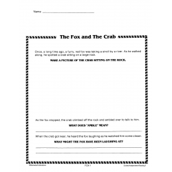 The Fox & The Crab: Guided Reading (Chapter Slice)