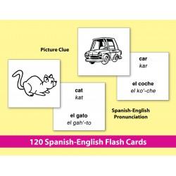 Spanish-English Vocabulary-Building Flash Cards 1 (eBook)