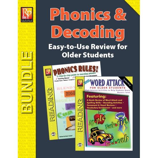 Phonics & Decoding for Older Students (Bundle)