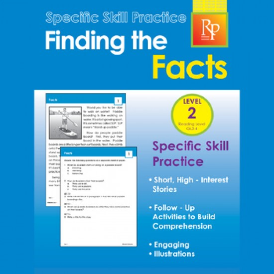 Google Classroom™ Activities: Finding the Facts : Distance Learning