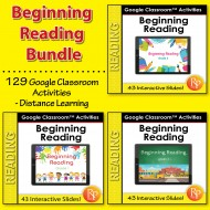 Google Classroom™ Activities: Beginning Reading Bundle