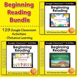 Google Classroom™ Activities: Beginning Reading Bundle