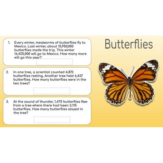 Google Classroom: Math Word Problems BUNDLE Gr. 1 - 5