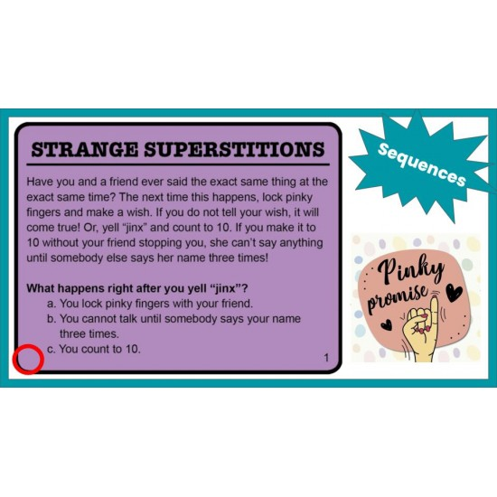 Specific Reading Strategies SUPER BUNDLE! **200 SKILL-SPECIFIC GOOGLE SLIDES**