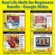 REAL-LIFE MATH: BIG BUNDLE! 773 Google Slides: Drive-Thru, Grocery, Shopping
