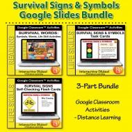 Google Slides: Survival Signs Bundle
