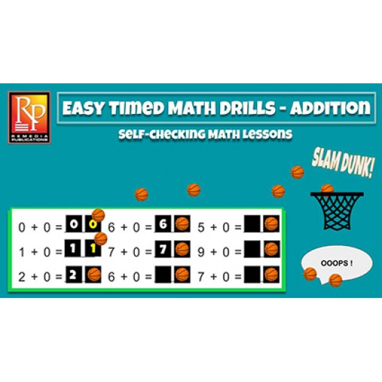 Google Classroom: Easy Timed Math Drills - Addition