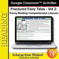 Google Classroom: Fractured Fairy Tales Vol 2