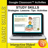 Study Skills Strategies - Learn More in Less Time | Google Slides Activities