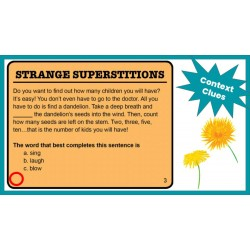 Google Classroom: Context Clues Reading Strategies Rdg Lvl 3-5 Distance Learning