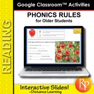 Phonics Rules & Decoding for Older Students: 167 GOOGLE SLIDES ACTIVITY LESSONS