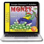 MONEY 1: GOOGLE SLIDES COIN LESSONS & ACTIVITIES: Penny, Nickel, Dime, Quarter