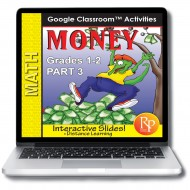Money 3: LIFE SKILLS MATH GOOGLE SLIDES-Counting, Spending, Shopping Word Problems