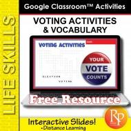 Google Classroom: Voting Activities