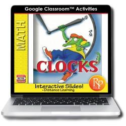 Google Classroom: Clocks Time Concepts