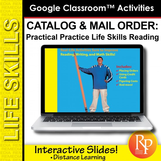 Google Slides: CATALOGS & MAIL ORDER: Practical Practice Reading & Life Skills