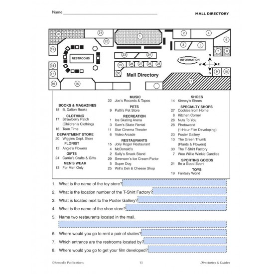 Google Slides: DIRECTORIES & GUIDES: Practical Practice Reading & Life Skills