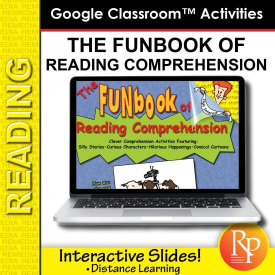 Google Slides: The Funbook of Reading Comprehension