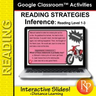 Google Classroom: Making Inferences - Reading Strategies | Distance Learning