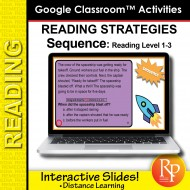 Google Classroom: Detecting Sequence - Reading Strategies | Distance Learning