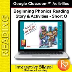 Google Classroom: The Short O: Adventures of Bob and Dot