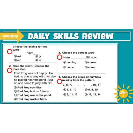 Google Classroom: Daily Skills Review 2nd Grade