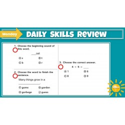 Google Classroom: Daily Skills Review 2nd Grade