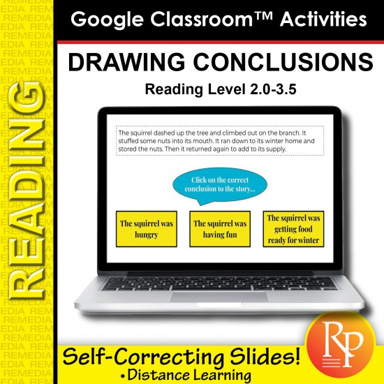 Google Classroom: Drawing Conclusions (Interactive Slides)