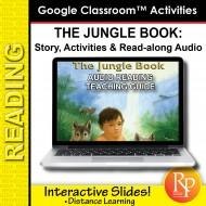 "Google Slides: ""The Jungle Book"" Abridged Story, Activities & Read-along Audio"