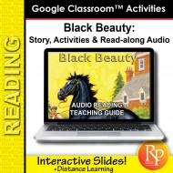 "Google Slides: ""Black Beauty"" Abridged Story, Activities & Read-along Audio"