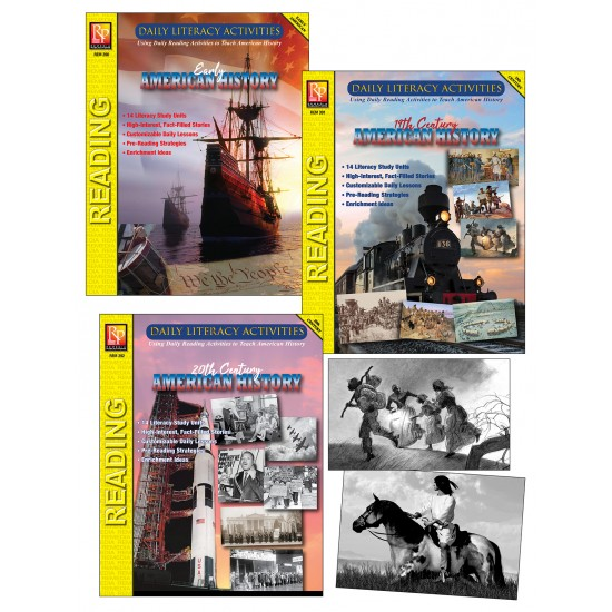 Daily Literacy Activities Bundle: 3-Book Set