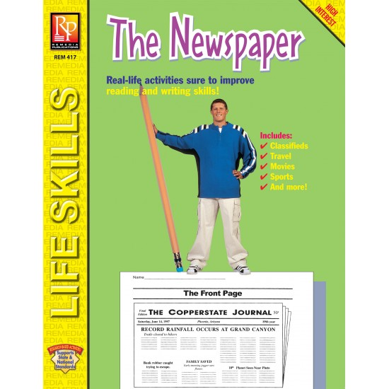 Practical Practice Reading: The Newspaper (eBook)