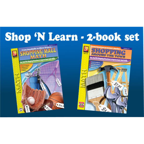 Shop 'N Learn: Consumer Math Word Problems (Bundle)