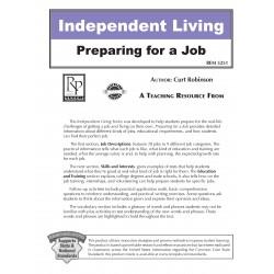 Independent Living: Preparing For a Job (Editable Ebook)