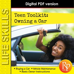 TEEN TOOLKIT- OWNING A CAR! High Interest Reading & Life Skills Activities