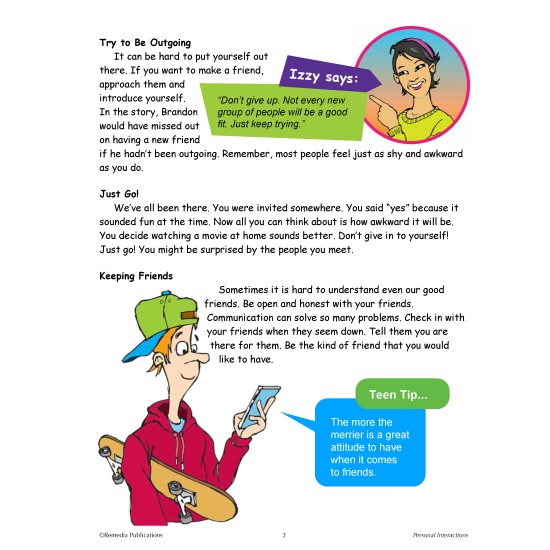 Real-World Skills: Social Skills - Improving Relationships Book 2  (eBook)