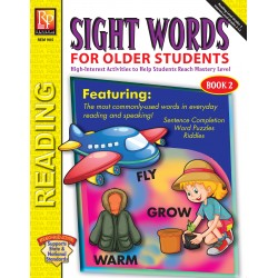Sight Words For Older Students (Book 2)