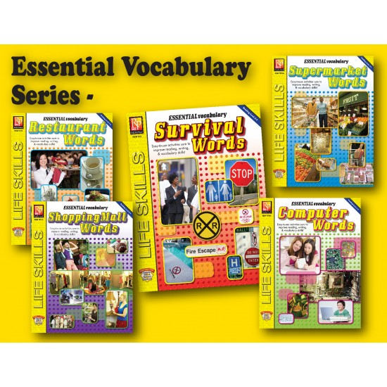 Essential Vocabulary Words for the Real World (Bundle)
