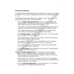 Multiplication: Straight Forward Math Series