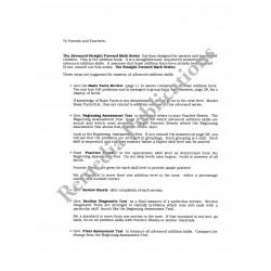 Advanced Addition: Straight Forward Math Series (Advanced Edition)