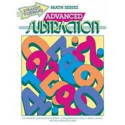 Advanced Subtraction: Straight Forward Math Series (Advanced Edition)