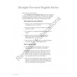 Verbs: Straight Forward English Series