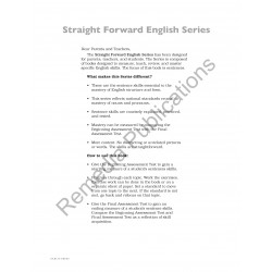 Sentences: Straight Forward English Series