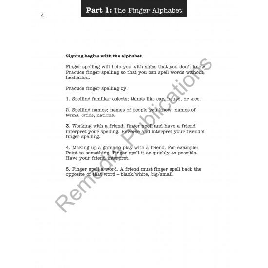 Signing At School: Beginning Sign Language Series