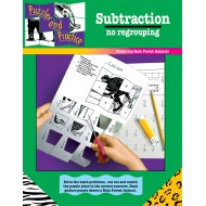 Puzzles & Practice: Subtraction (No Regrouping)