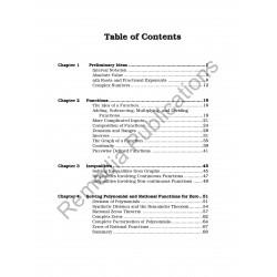 Pre-Calculus: Straight Forward Math Series (Large Edition)