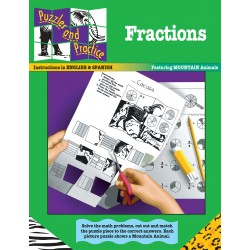 Puzzles & Practice: Fractions