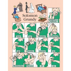 Mother Goose in Sign: Beginning Sign Language Series