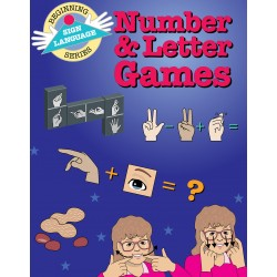 Number & Letter Games: Sign Language (Beginning Sign Language Series)