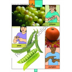 Fruits & Vegetables: Beginning Sign Language Series